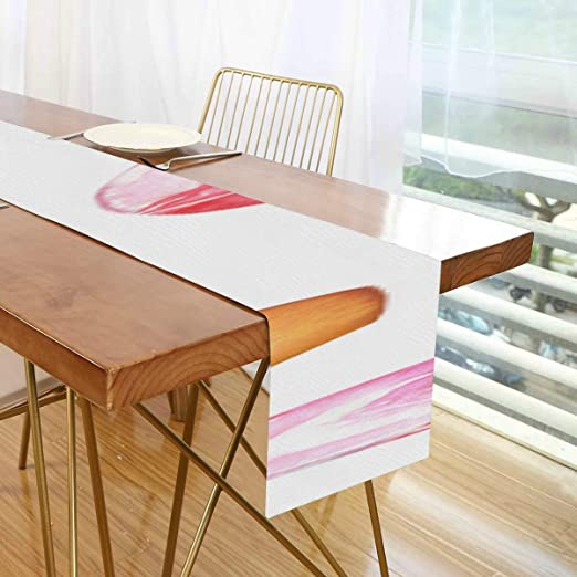 Amazon Com Nana Restaurant Table Runners Retro Stylish Colorful Red Wine Cork Hall Table Runner Diner Table Runner For Office Kitchen Dining Wedding Party Home Coffee Table Decor Home Kitchen