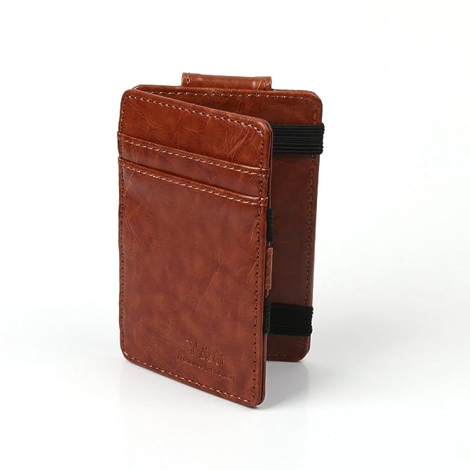 Y&G ycm0101 Magic cartera/tarjeta de Crédito Holder Dinero Clip 6 color disponible por Y &: Amazon.es: Ropa y accesorios