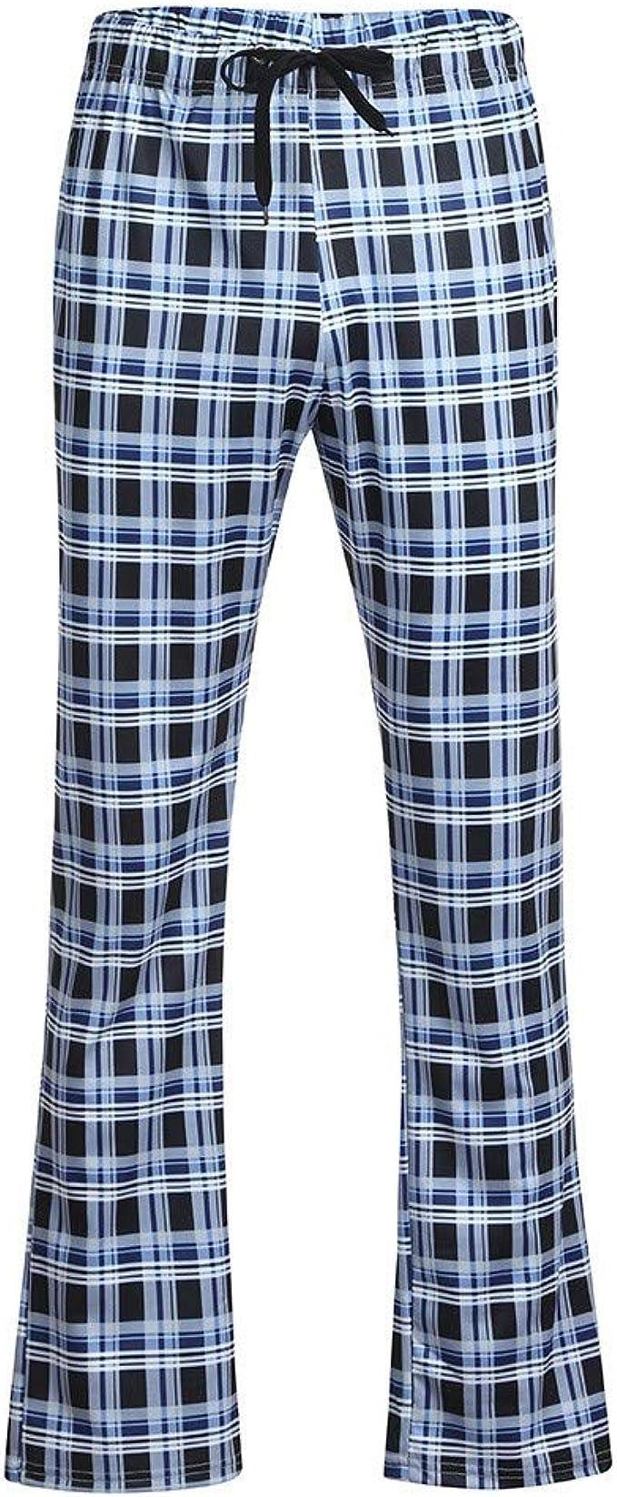 Pantalones para Hombre, Pantalones de Pijama Moda Pop Casuales ...