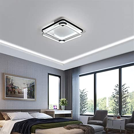 Dimming Led Ceiling Lights Rectangle Square Shape for Living Room ...