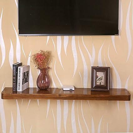 Xuping - Estantería de pared para tabiques de TV (madera, 90 ...