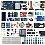 DingMai UNO R3 Complete Starter Kit with Multilingual Comprehensive Tutorials and Professional Support for Arduino UNO Project (64 items)