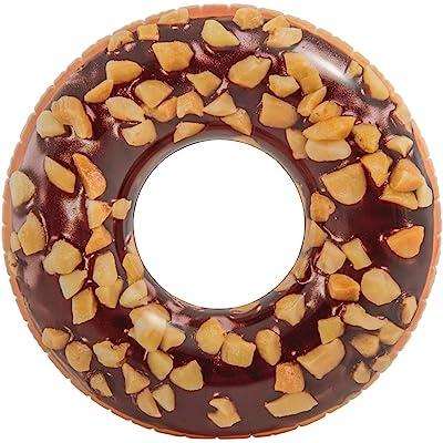 Intex 56262NP - Rueda hinchable Donut chocolate 114 cm diámetro