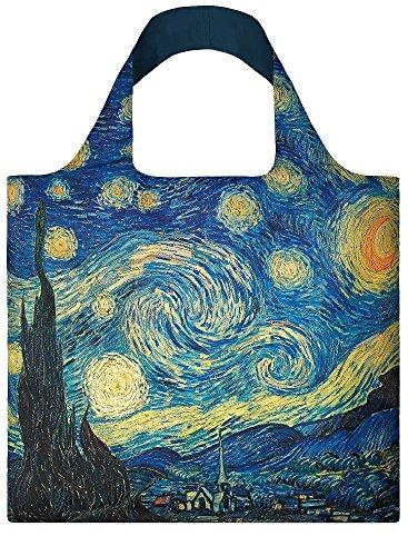 Vincent Sac Multicolour Gogh The 20 Bag Van Museum Multicolore de LOQI Night Starry Multicolour liters 50 cm Plage Multicolore 5wq48x
