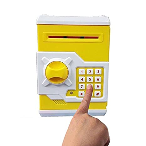 JPM Marketing ATM Machine Money Safe Vault Money Bank Coin Box for