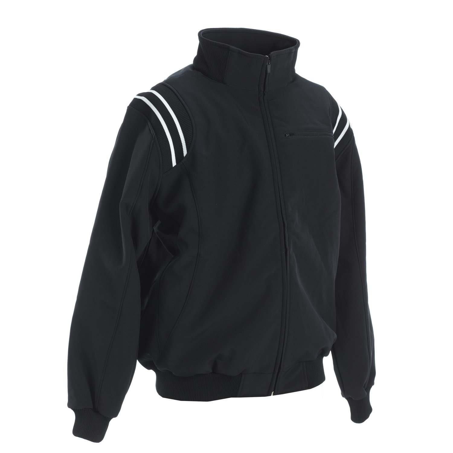 Adams USA Smitty Pro Style Cold Weather Jacket (Black/White, 4X-Large) by Adams USA (Image #1)