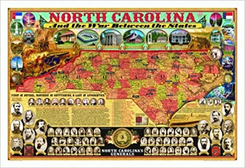 North Carolina and the War Between the States Poster (Civil War ...