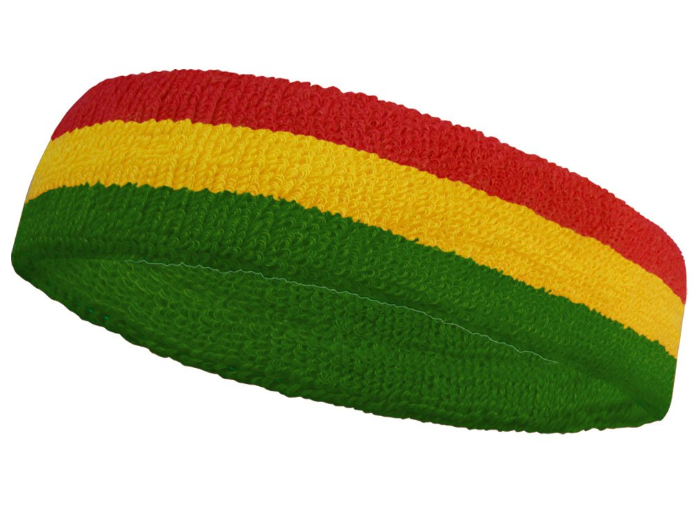 COUVER National Country Flag color Headband, 1 piece