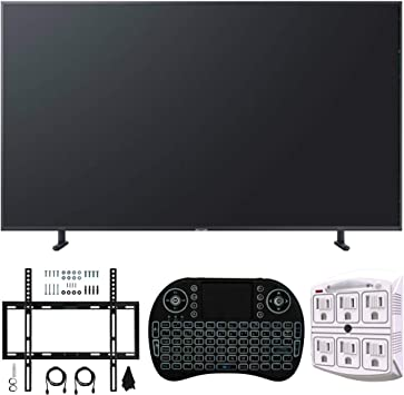Samsung RU8000 LED Smart 4K UHD TV (modelo 2019) + con kit de montaje en pared