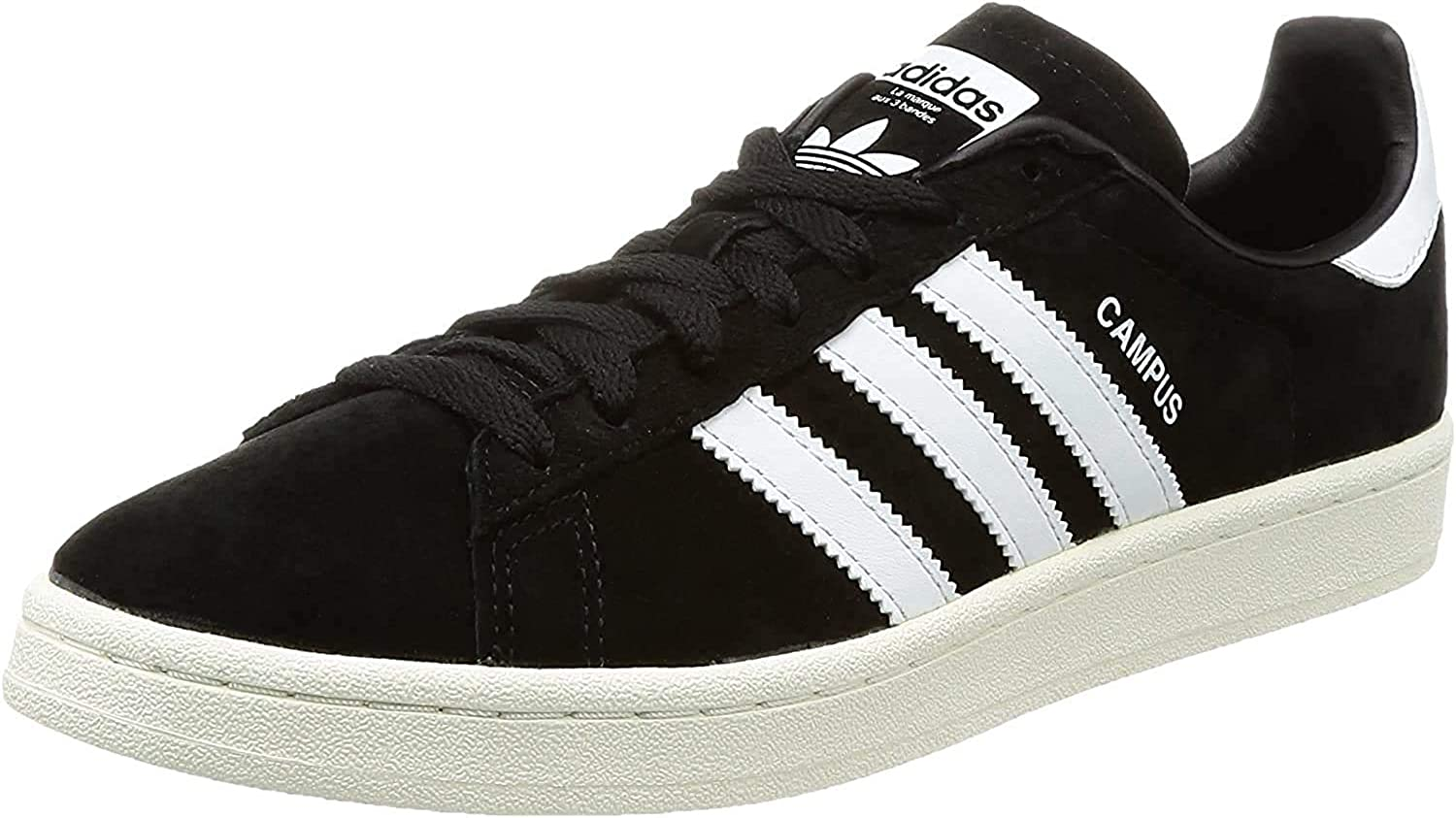 adidas Campus Bz0084, Zapatillas para Hombre Negro Core Black Footwear White Chalk White 0
