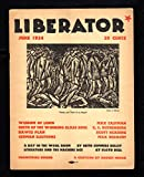 img - for The Liberator Magazine /June, 1924 / Cover by Julian de Miskey,