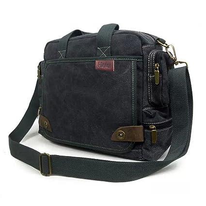 e3dc06574d E-Bestar sac à main homme en toile sac à bandoulière multi-fonction sac