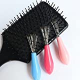 Hair Brush Cleaner Comb Cleaner - Mini Hair Brush Combs Cleaner Magic Handle Tangle Shower Salon Styling tamer Tool - Stocking Stuffers For Women