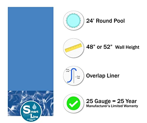 Smartline Bedrock 24-Foot Round Liner