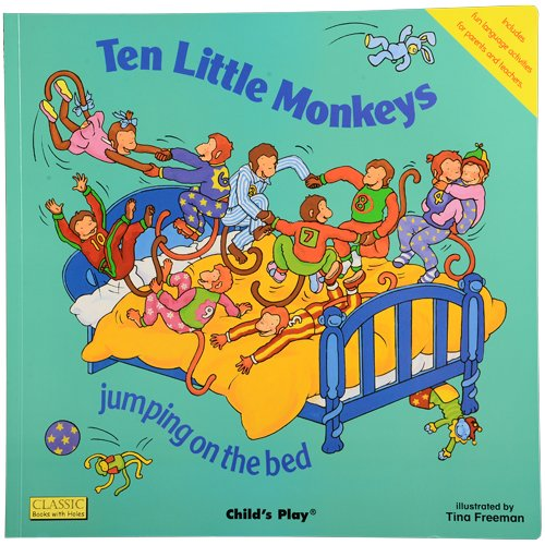 Ten Little Monkeys - Song & Rhyme Big Book ()