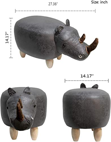 HAOSOON Animal ottoman Series Ottoman Footrest Stool