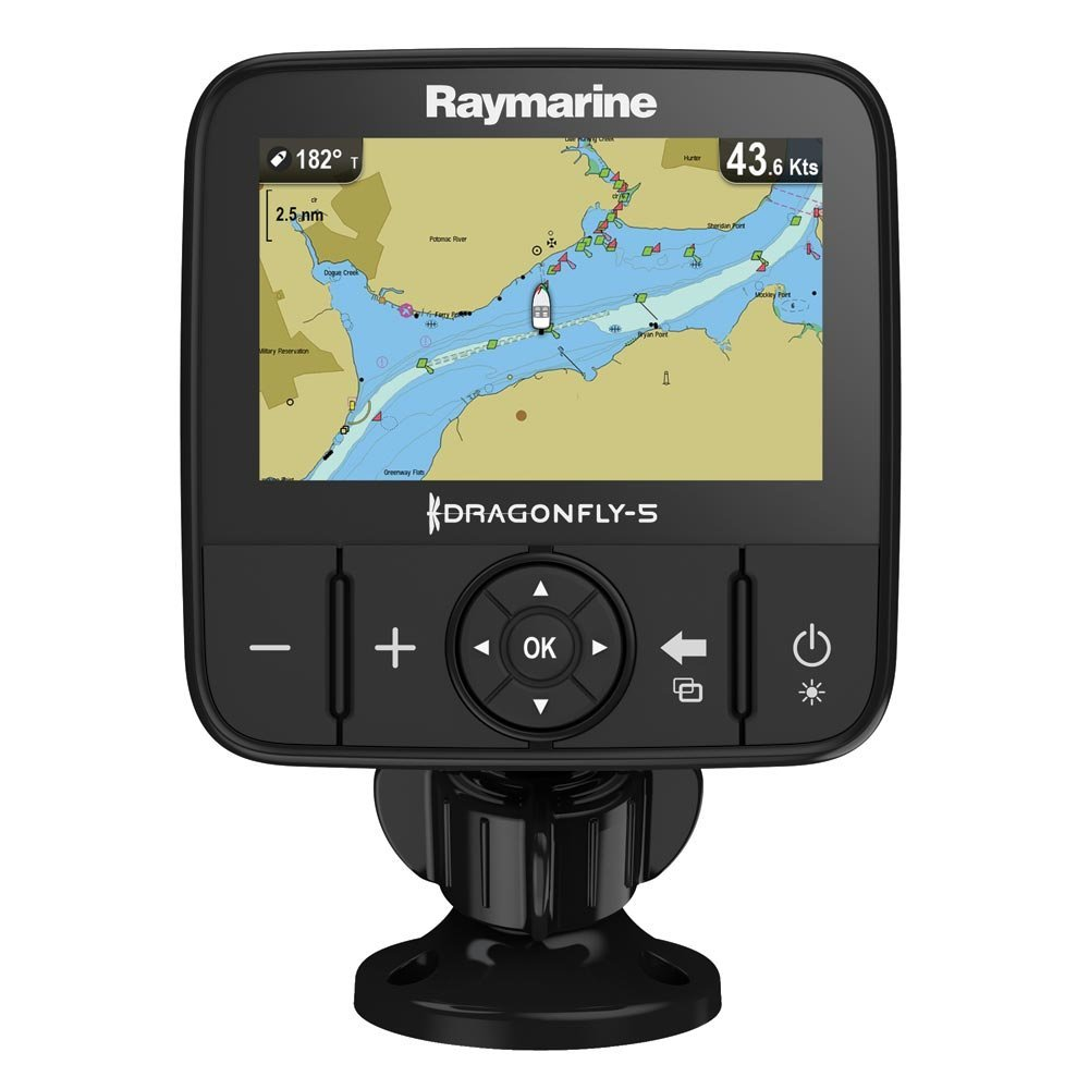 Amazon.com: Raymarine Dragonfly-5M Navionics+ GPS: Raymarine: Sports &  Outdoors