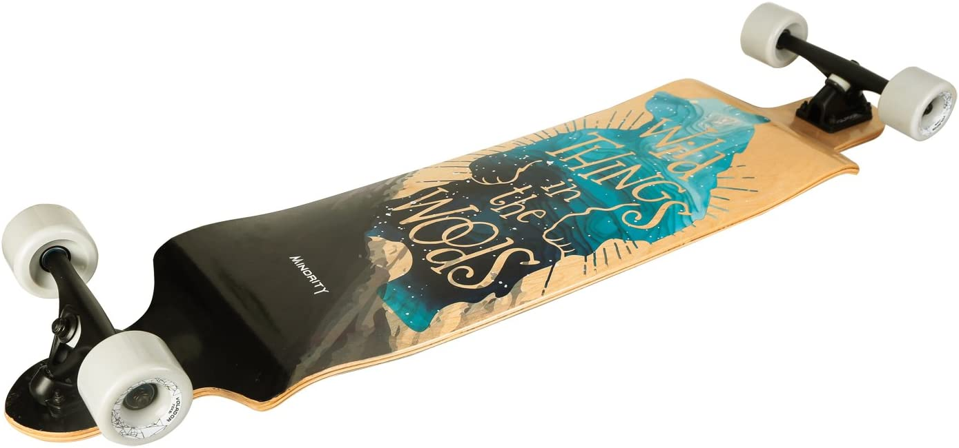 MINORITY Downhill Maple Longboard 40-inch Drop Deck - 1
