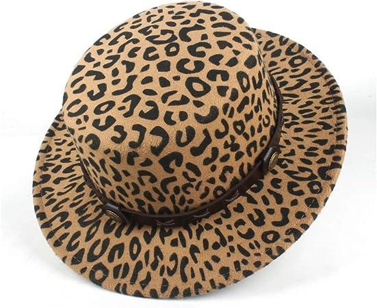 Yjiu Fedora Hats 2020 Fashion Women S Loose Fedora Fedora Wool Polyester Flat Top Hat Fall Winter Narrow Leather Hard Hat Player Hat Color Khaki Size 56 58 Amazon Co Uk Garden Outdoors