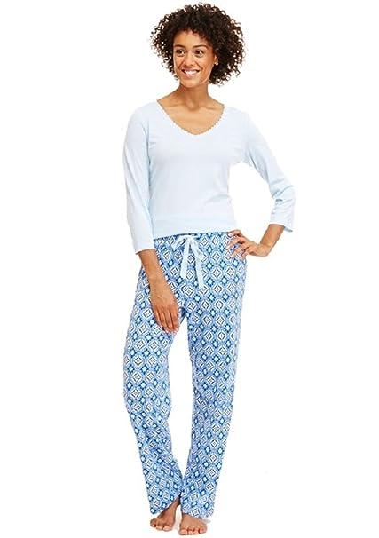 Conjunto de pijama de punto para mujer, XXL