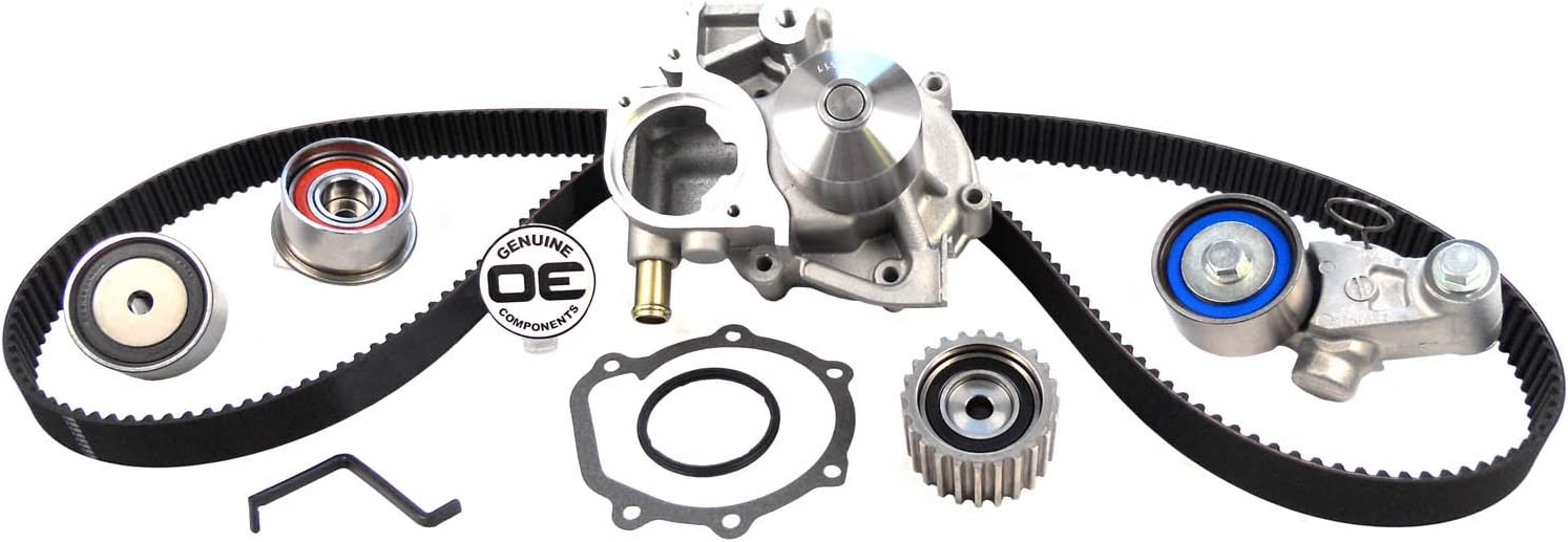ACDelco TCK304 Professional Timing Belt Kit with Tensioner and 3 Idler Pulleys
