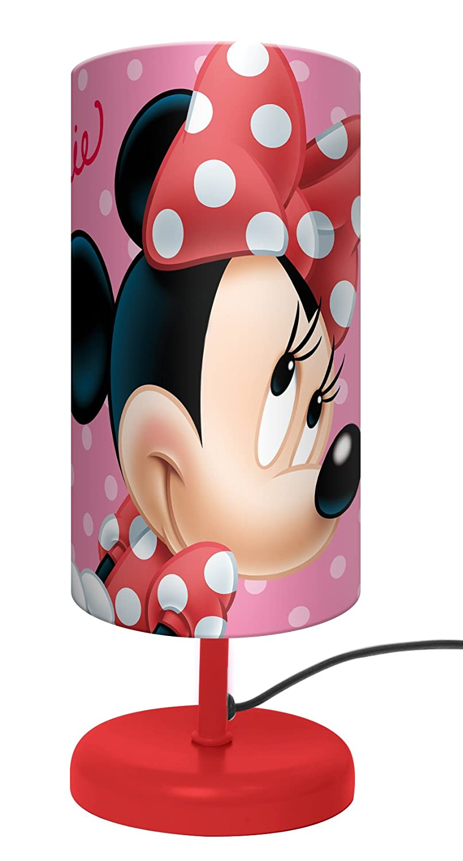 Lampe de chevet Minnie Disney 29 cm (rose) ELI