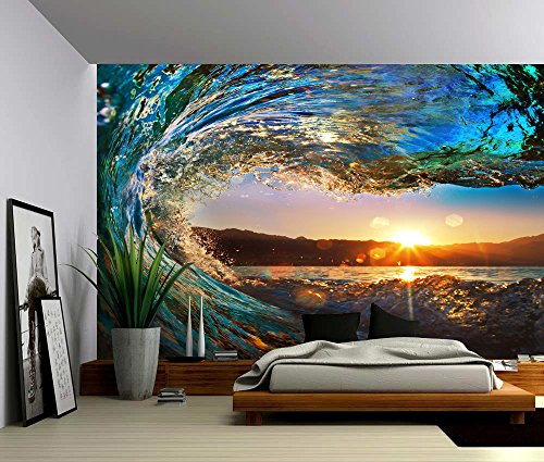 self adhesive wall mural amazon com