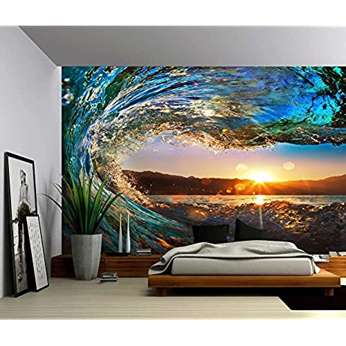 Self adhesive wall mural for Wallpaper for bedroom amazon