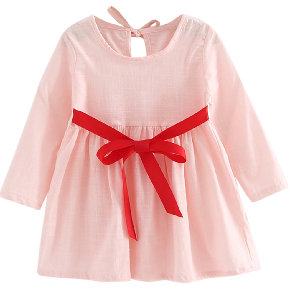 Kids Dress, amazingdeal Girls Linen Spring Summer Princess Dress Skirt