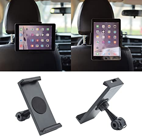 Car Back Seat Holder Mount Stand Headrest for 7-10 Inch Tablet// Ipad//GPS