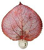 Real Leaf Aspen Night Light, Copper