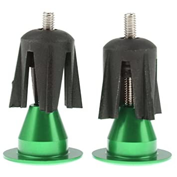 SGerste par de tapones de aluminio para manillar de ...