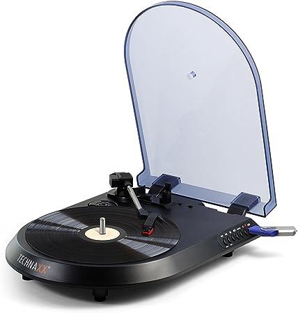 Technaxx TX43 - Microcadena, Color Negro: Amazon.es: Electrónica