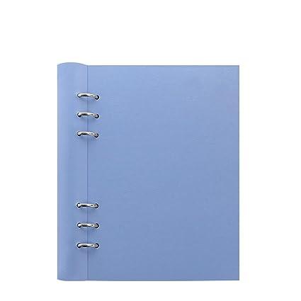 Filofax 23620 organizador, A5 Clip libro Classic, pastel, vista, color azul