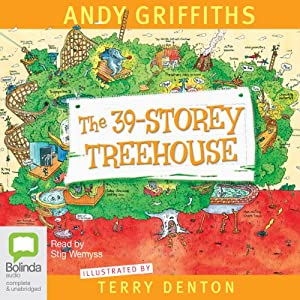 The 39-Storey Treehouse Audiobook