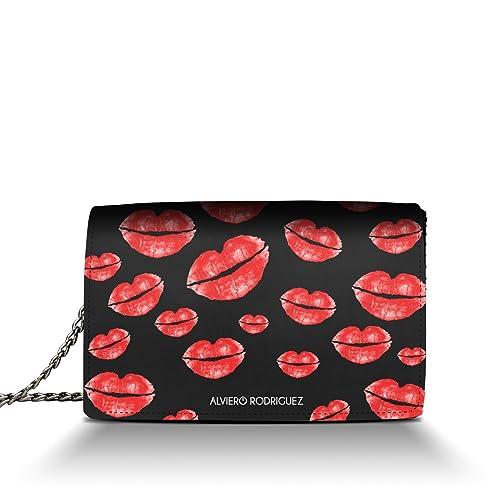 Rosse in Donna Rodriguez Vera Alviero Kiss Baci Pelle Labbra Borsa X0BEnqUF