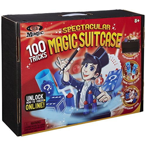 Ideal 100-Trick Spectacular Magic Show Suitcase - Kid Magic Trick