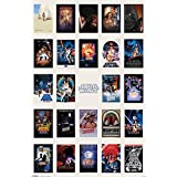 "Star Wars: Episode I, II, III, IV, V & VI - Movie Poster / Print (One Sheet Movie Poster Checklist) (Size: 24"" x 36"") (Poster & Poster Strip Set)"