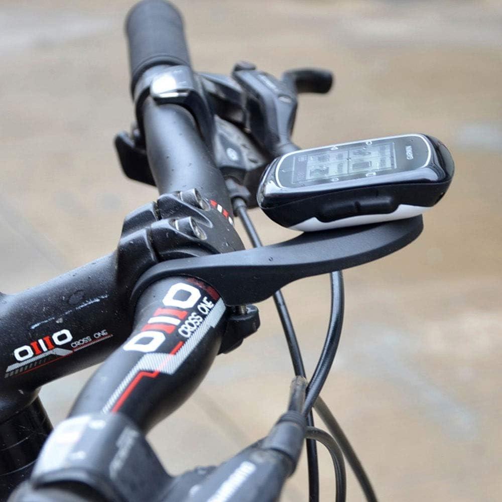 VeloChampion - Bicicleta de Manillar para computadora de Bicicleta para Garmin Edge 200, 500, 510, 800, 810, 1000 y cámara GoPro (Long)