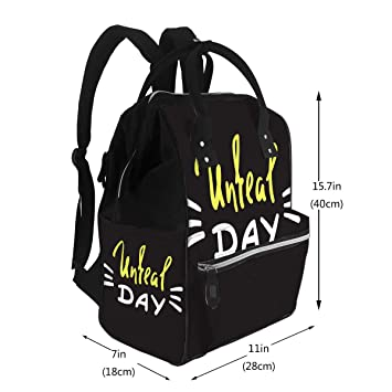 new products wholesale sales cheap prices Amazon.com : Diaper Bags Backpack Unreal Day Emotional Fancy Quote ...