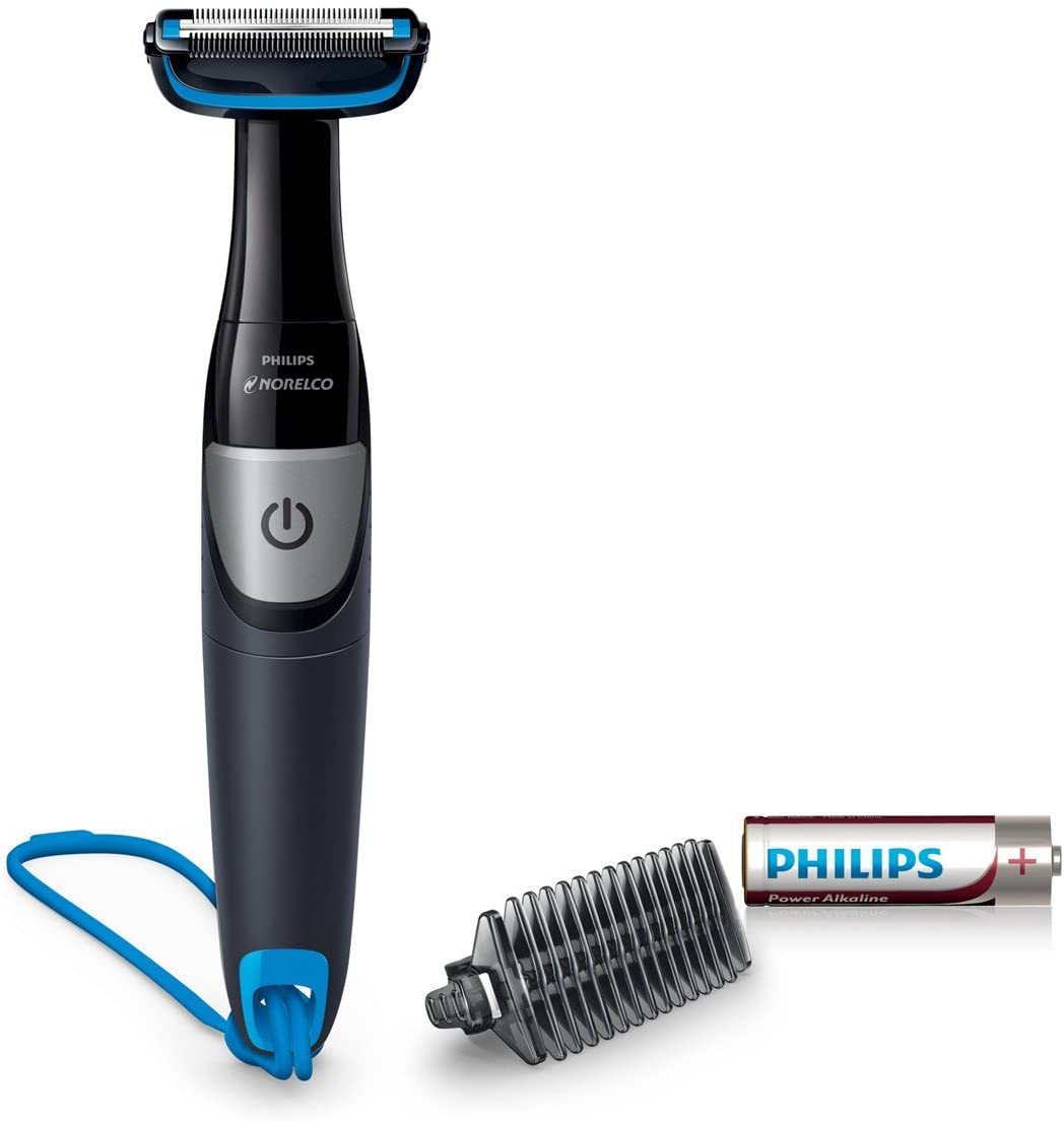 Afeitadora corporal Philips Bodygroom Series 1100 de Norelco, BG1026/60: Amazon.es: Belleza