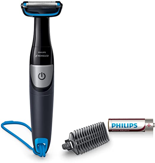 Afeitadora corporal Philips Bodygroom Series 1100 de Norelco ...