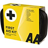 AA Soft Pouch First Aid Kit - Black