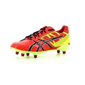 4304b6f3f36d Asics Mens Gel Lethal Speed 6 Stud Rugby Boots (P503Y-2190) UK 6 ...