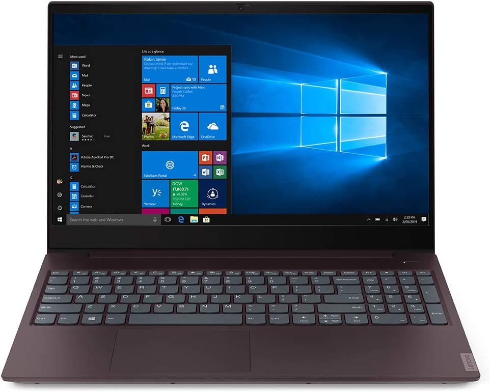 "Lenovo ideaPad S340 15.6"" HD Laptop, Intel Core i5-8265U, 12GB RAM, 128GB SSD+1TB HDD, Quad-Core 2.10 GHz up to 3.90 GHz, USB-C, DDR4 RAM, Webcam, Bluetooth, HDMI, USB 3.1, Win 10 - Dark Orchid"