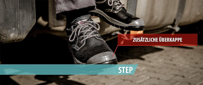 Nitras Step S3-Arbeitsschuhe Sicherheitsschuhe mit Stahlkappe