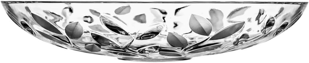 15 x 15 x 8 cm Crystaljulia Decorative Bowl Crystal 15x15cm