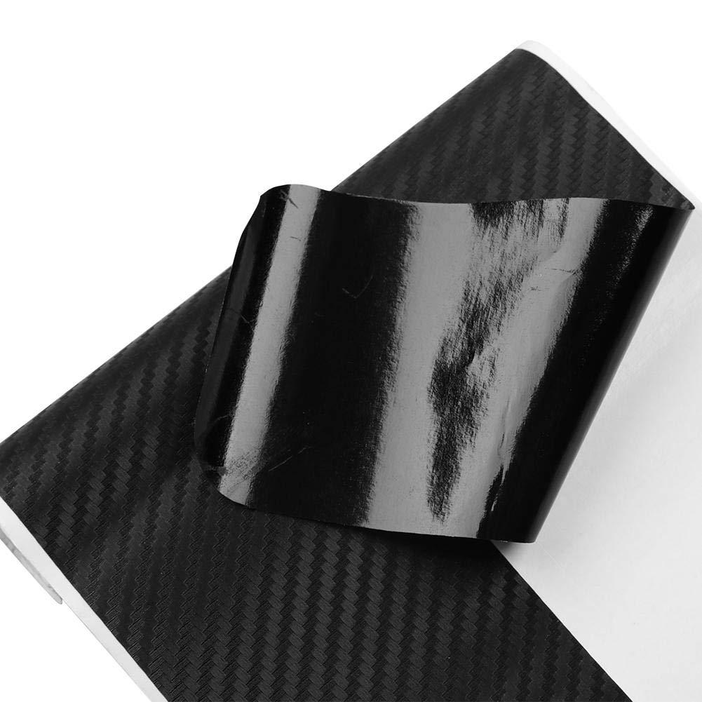 matefield 4/in fibra di carbonio porta dell auto etichetta del Traversa nessuno adesivi di Film di protezione scivolata