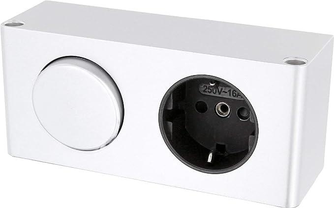 Enchufe con interruptor montaje - 230 V 16 A 3500 W - Mesa enchufe ...