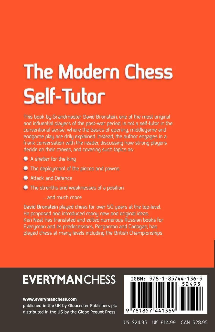 5ed1b531012 Modern Chess Self-Tutor: David Bronstein: 9781857441369: Amazon.com: Books